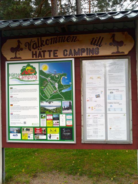 hätte camping