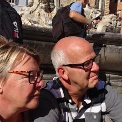 Vi ser nåt spännande i Rom